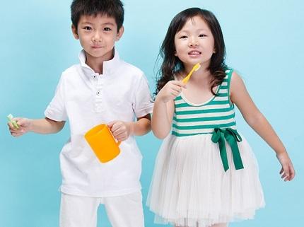 6 cách hay khiến bé thích đánh răng, 6 cach hay khien be thich danh rang
