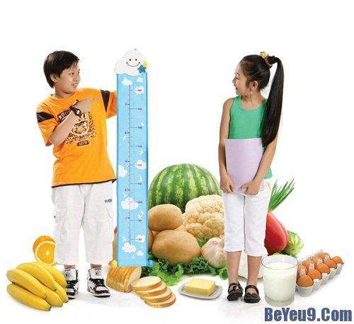 Những thực phẩm cần thiết giúp trẻ tăng chiều cao tối ưu