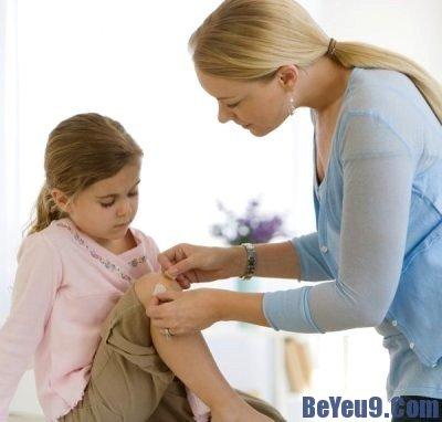 Cách xử lý khi trẻ bị thương do tại nạn hằng ngày