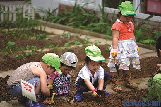 Những lý do thuyết phục bố mẹ nên cho trẻ làm vườn